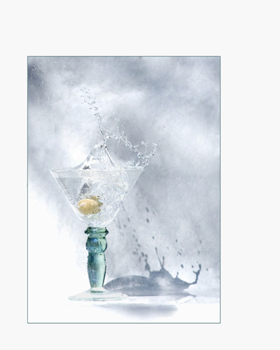 Shaken with a Splash by Patricia Lowe