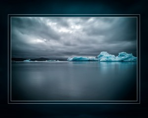 Third Place Illustrative - Glacier Lagoon - Victor Barrera