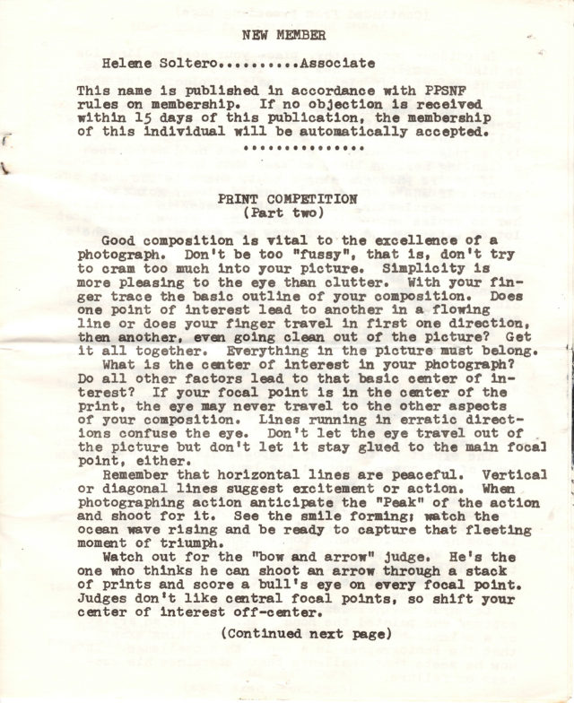 JPPG Archives - PPSNF Newsletter June 1978